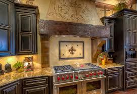 Fleur De Lis Kitchen Kitchen Mediterranean With Twotone Cabinets - Delaware kitchen cabinets