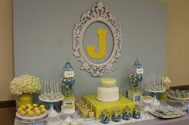 yellow baby shower ideas gray blue yellow baby shower ideas via babyshowerideas4u delicious