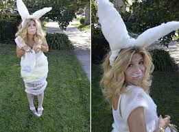 Easter Bunny Halloween Costume Minute Costume Diy Dust Bunny Bunny Costumes