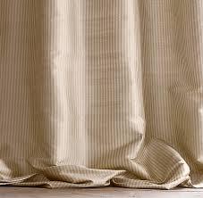 Thai Silk Drapes Thai Silk Tonal Stripe Drapery