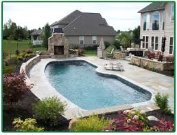 Inground Pool Patio Designs Pool And Patio Atherton Residence Pool And Patio Pool Patio