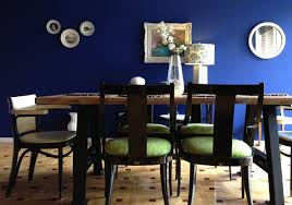 Blue Dining Room Ideas Bold Blue Dining Room Before And After U2013 Em In Jerusalem