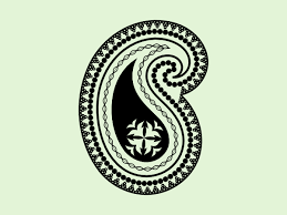 inkscape tutorial paisley motif vectors