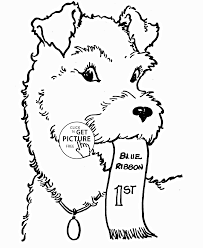 nice dog coloring page for kids animal coloring pages printables