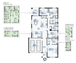 The Lenox Floor Plan by Lenox Simonds Homes New South Wales