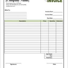 free download blank commercial invoice template and table for ms