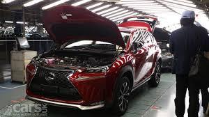 lexus nx hybrid review uk lexus nx compact suv production starts