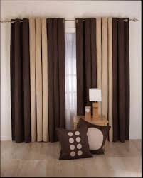 Bedroom Curtain Ideas Curtain Designs For Living Room Brown Cream Color 9501186 Cool