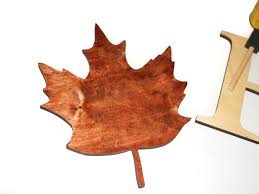 Craftcuts by Fall Leaf Wood Sign Craftcuts Com