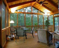 screen porches bring outdoor living into the night screened