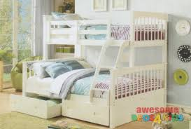 Bayswater Premium Single Over Double Bunk Bed Awesome Beds  Kids - Double bunk beds