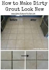 How To Clean Kitchen Tile Grout - updating tile u0026 grout easy tile update make your tiles