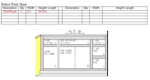 Measuring Cabinet Doors Cabinet Door Co Measuring Doors With Hinges