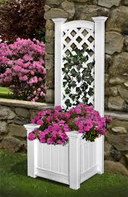 Vinyl Planter Boxes Window Boxes Trellis Offered In A