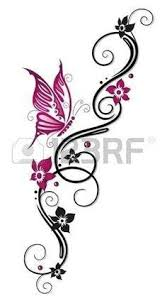 21 best beautiful butterfly tribal tattoos images on