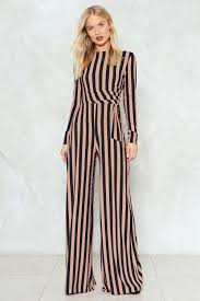 gal jumpsuit stripe you are ribbed jumpsuit shop clothes at gal