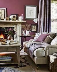 wohnzimmer ideen wandgestaltung lila landhausstil wohnzimmer lila wandgestaltung kamin teppichmuster