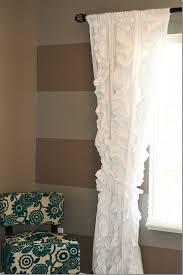 Brown Ruffle Shower Curtain by Modern Unique Ruffle Curtains Ruffle Curtains Sheer Ruffled