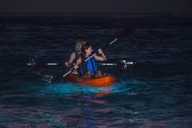 Kayak Night Lights Moonlight Glass Bottom Kayak Tours U2013 See The Underwater World At