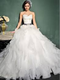 gowns sweetheart neckline styles for wedding dresses 2014 4