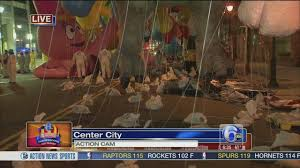 morning preps for the thanksgiving day parade 6abc