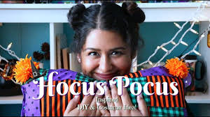 hocus pocus inspired diy and costume idea on a budget youtube