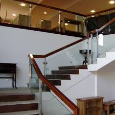 Timber Handrails And Balustrades Glass Ennis Clare Mcmahon Glass Products U0026 Services Glass For