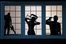 spooky window silhouettes and other diy halloween decorations from