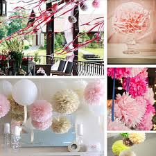 Wedding Gift Decoration Aliexpress Com Buy 20 Pcs Lot Crafts Tissue Paper Flowers