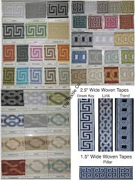 Greek Key Pattern Curtains Greek Key And Decorative Trim Tapes By Thetextileco On Etsy