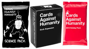 cards against humanity expansion pack three new cards against humanity expansion packs released gamezone