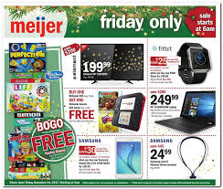 meijer black friday 2017 ads deals and sales