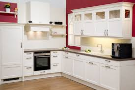 red and white kitchen cabinets the top home design