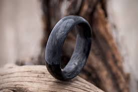 carbon wedding band forged carbon fiber wedding band hiconsumption