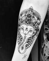 ganesha tattoo on shoulder 13 best tattoos images on pinterest elephants tattoo ideas and