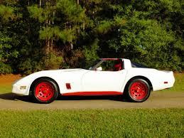 1981 white corvette 1981 chevrolet corvette coupe t top white with interior