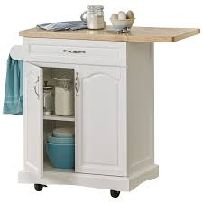 Kitchen Islands With Drop Leaf by Fingerhut Alcove Drop Leaf Rolling Kitchen Cart