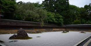 Ryoanji Rock Garden Ryoanji Temple Kyoto On Kyoto