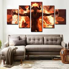 Art Decoration For Home Aliexpress Com Buy Minotaur Great Power Greek Mythology Abstract