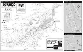 Southwest Colorado Map by Durango City Mapofficial Tourism Site Of Durango Colorado