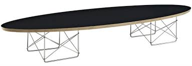 Surfboard Coffee Table Elliptical Surfboard Coffee Table Black Or White