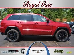 red jeep car picker red jeep grand cherokee altitude