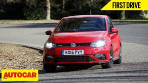 volkswagen polo gti 2016 volkswagen polo gti first drive autocar india youtube