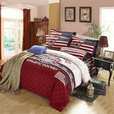 American Flag Comforter Set King Size Bed Sheets Black And White Bedding Set Feather Duvet