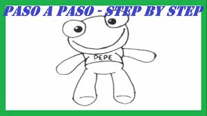 imagenes de un sapo para dibujar faciles como dibujar al sapo pepe paso a paso l how to draw toad pepe step