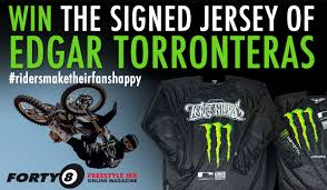 signed motocross jerseys forty8 freestyle mx online magazine win the original rider