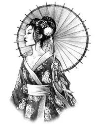 geisha drawing at getdrawings com free for personal use
