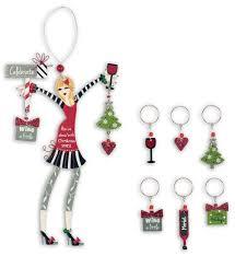 wine martini ornaments
