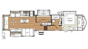 Wildcat 5th Wheel Floor Plans 2018 Forest River Sandpiper 372lok Model