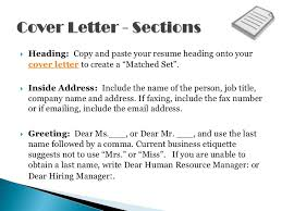 Sample Resume Covering Letter by Resume Cover Letters Shows Off Your Qualifications